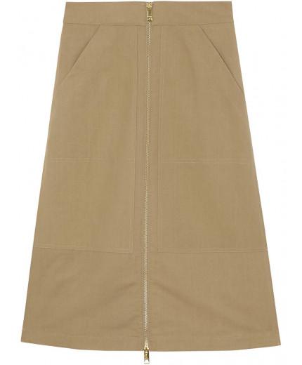 Burberry jupe à taille haute