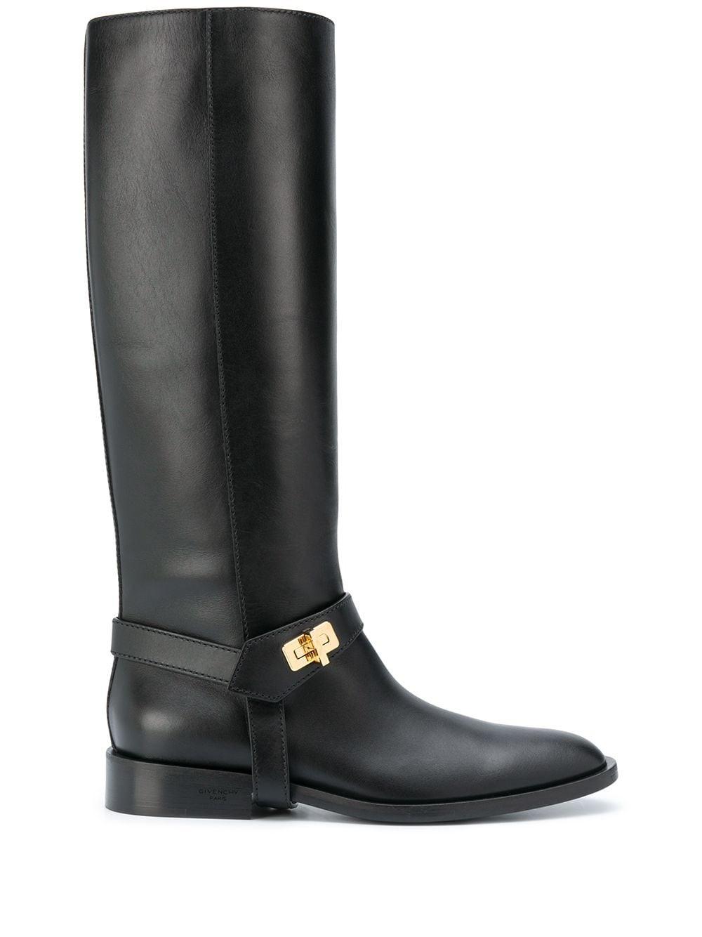 Givenchy bottes à détails dorés