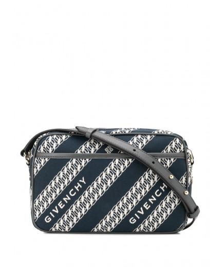 Givenchy sac à bandoulière rayé à motif monogrammé