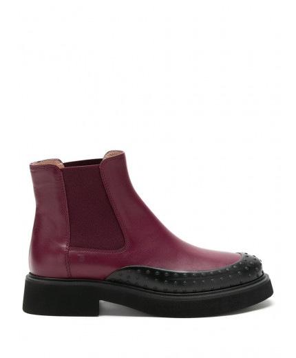 Tod's bottines chelsea à clous