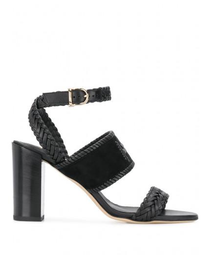 Tod's sandales tissées à bride cheville