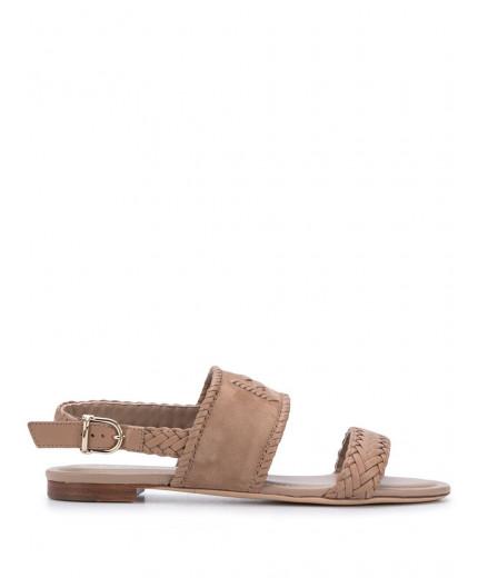 Tod's sandales à détails tressés