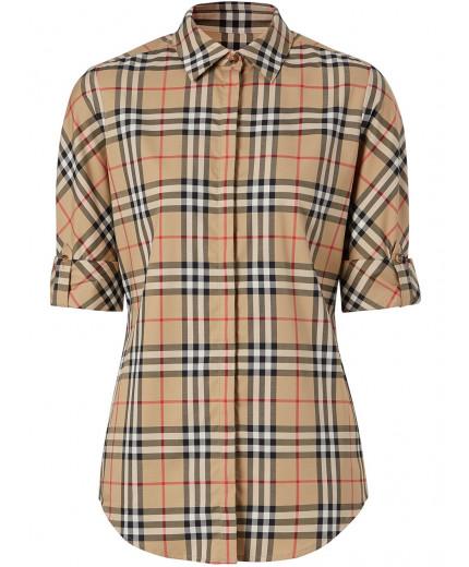 Burberry chemise à carreaux vintage
