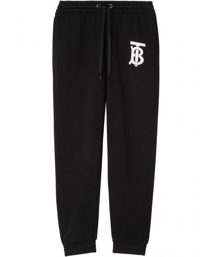 Burberry pantalon de jogging à motif monogrammé