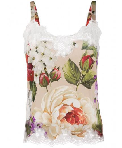 Dolce & Gabbana débardeur à fleurs