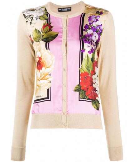 Dolce & Gabbana cardigan à fleurs