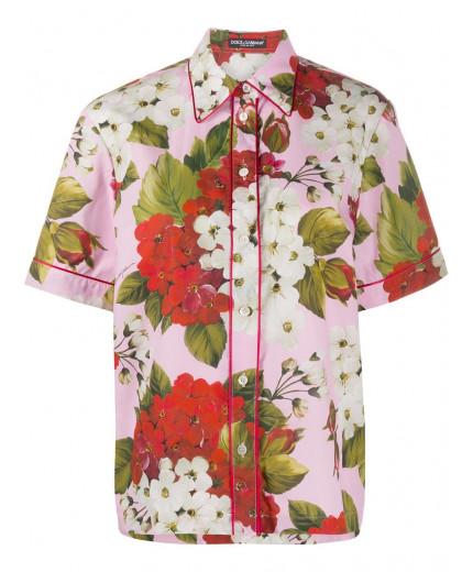 Dolce & Gabbana chemise à fleurs
