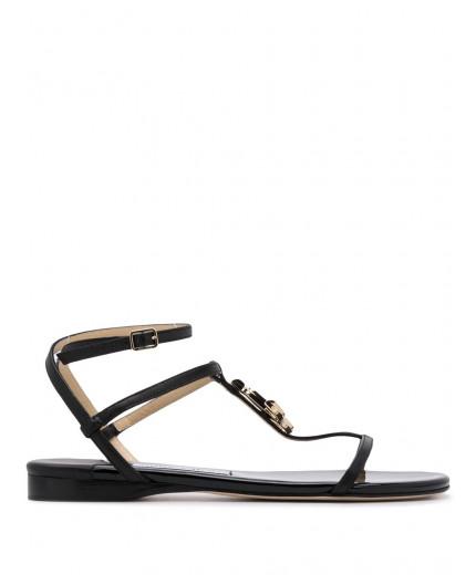 Jimmy Choo sandales à plaque logo