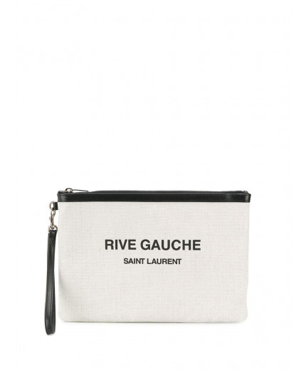 Saint Laurent pochette à logo