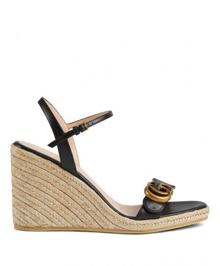 Gucci sandales à design compensées