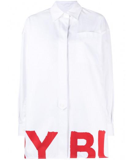 Burberry chemise à logo imprimé