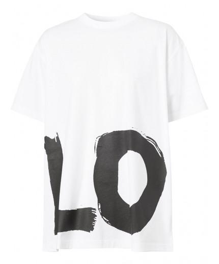 Burberry t-shirt imprimé oversize