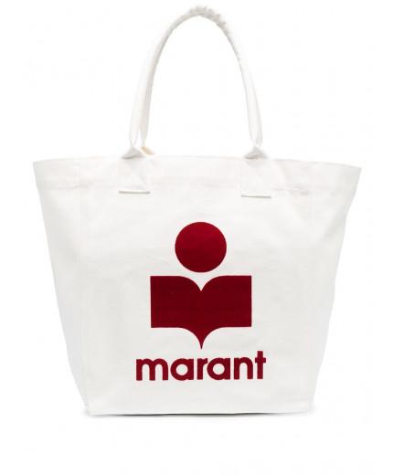 Isabel Marant sac cabas à logo floqué