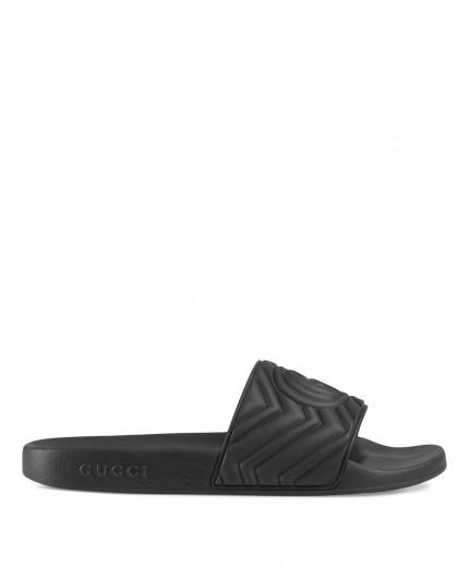 Gucci slippers à design matelassé
