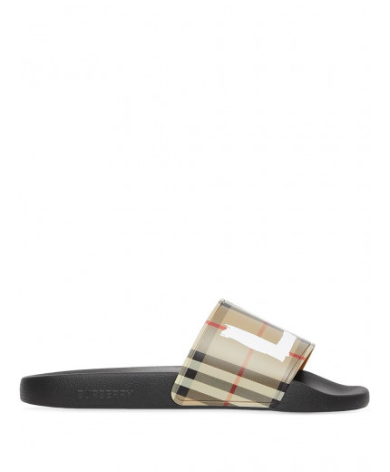 Burberry slippers Love à imprimé Vintage Check